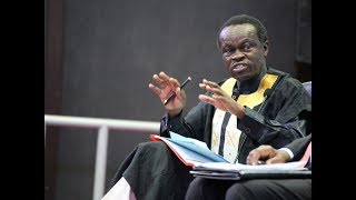 Download Prof P.L.O Lumumba: ″Africa is on dinner table Eaten by Superpowers″ Video