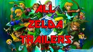 Download All The Legend of Zelda Trailers (1986-2014) Video