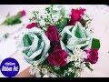 Download วิธีพับดอกกุหลาบจากธนบัตร+จัดช่อ จร้า Video