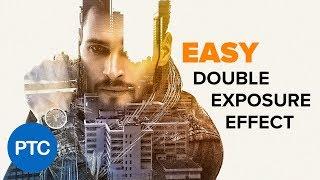 Download DOUBLE EXPOSURE Effect Photoshop Tutorial - EASY Double Exposure in Photoshop Video
