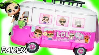 Download LOL Morning Routine Surprise with Custom DIY FAKE vs Real Dolls Bus Video