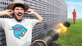 Download Can 50,000 Magnets Catch A Cannon Ball? Video