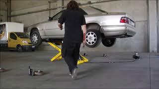 Download Elevador de coches portátil Spider Rolling Lift Video