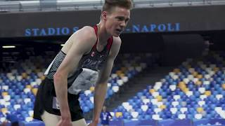 Download Busy final day of track at the 2019 Universiade in Naples Video