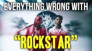 Download Everything Wrong With Post Malone - ″rockstar″ Video