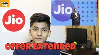 Download Jio Welcome Offer Extended Till March 2017, JIO Happy New Year [BUT SOME CHANGES] Video