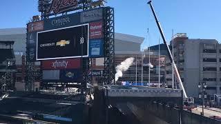 Download Chevys adds Silverado and Blazer to Comerica Park fountain Video