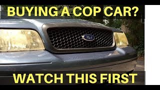 Download How To Buy A Crown Victoria Police Interceptor P71 Cop Car at an Auction Video