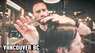 Download 💈 Victory Barber & Brand Gastown - Gentleman's Contour Haircut with Low Taper in the Back Video