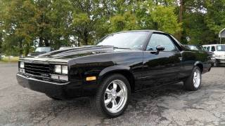 Download Short Takes: Restomod 1984 Chevrolet El Camino Conquista (Start Up, Exhaust, Full Tour) Video