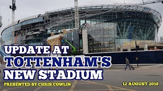 Download UPDATE AT TOTTENHAM'S NEW STADIUM: Furniture Delivery Tomorrow, 15 Days Until U23 Match - 12/08/2018 Video