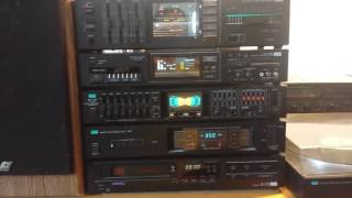 Download An entire Sansui 80's set in action Video
