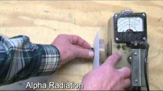 Download Alpha, beta, and gamma radiation demonstrated Video