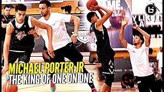 Download Michael Porter Jr Is The KING of 1 on 1!! Steph Curry Camp Back to Back Champ! Video