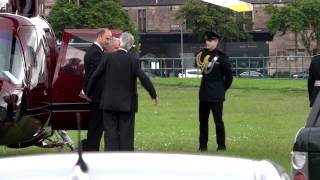 Download HM Queen Elizabeth II in Greenock Battery Park July 4th 2012 Video