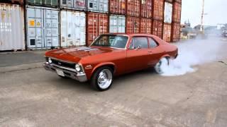 Download 1971 Chevy Nova SS Burnout Video