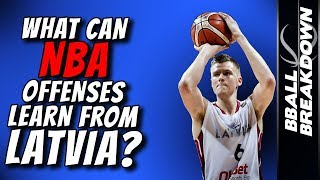 Download What NBA Offenses Can Learn From Latvia Video