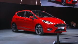 Download 2017 Ford Fiesta revealed at the Go Further Event in Cologne, Germany Video