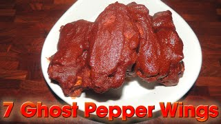 Download Ghost Pepper Wings SIZZLING 7 WING CHALLENGE!! Video