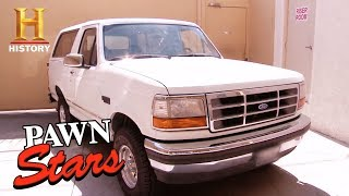 Download Pawn Stars: O.J. Simpson Getaway Bronco (Season 14) | History Video