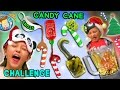 Download CANDY CANE CHALLENGE w/ Gross & Weird Flavors + Nasty Smoothie Mix (FUNnel Vision Taste Test Fun) Video