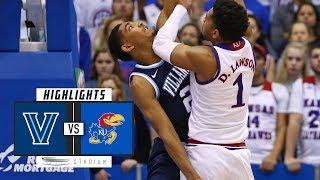 Download No. 17 Villanova vs. No. 1 Kansas Basketball Highlights (2018-19) | Stadium Video