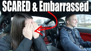 Download 900HP GT500 REACTION Scared her to Embarrassment Video