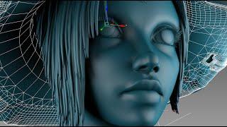 Download 3DsMax Face Modeling sorceress (Long version) Video