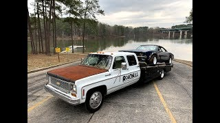 Download Finnegan' Garage Ep.66: Cummins-Powered Chevy Dually to Single Wheel Axle Swap! Video