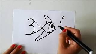 Download 1'den 10'a Kadar Sayılarla Hayvan Çizme - ÇOK BASİT!!! Video