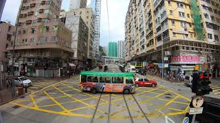 Download 【4K Hong Kong Tram Ride】Westbound - Part 1 @ Noon (2018-12-15) Video