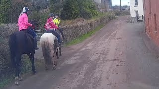 Download An example of inconsiderate horse riders (Kennford) Video