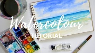 Download PAINTING TUTORIAL for Beginners with Watercolours | Katie Jobling Art Video