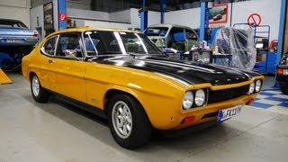 Download Ford Capri RS 2600 classic ride to Classic Days Schloss Dyck - Autogefühl Autoblog Video