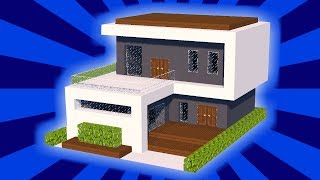 Minecraft Tutorial Cara Membuat Rumah Modern 11 Free Download
