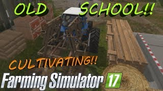Download HOW TO CULTIVATE!! Old School Farming Simulator 2017 Series! Video