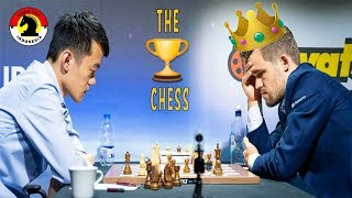 Download SANG JUARA CATUR DUNIA MEMECAHKAN REKOR (Ding Liren VS Magnus Carlsen) Grand Chess Tour 2019 Video