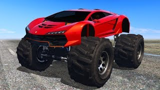 Download THE SECRET MONSTER TRUCK SUPERCAR! (GTA 5 Online) Video