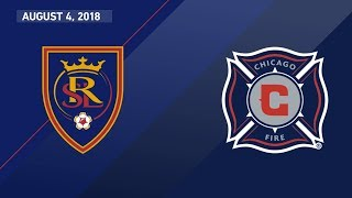 Download HIGHLIGHTS: Real Salt Lake vs. Chicago Fire   August 4, 2018 Video