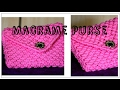 Download Full Making tutorial of Beautiful Handmade Macrame Ladies Purse| Watch full video HD|Best Creativity Video