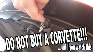 Download 5 THINGS I HATE ABOUT MY CORVETTE!!! Video