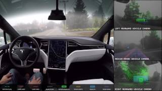 Download Tesla Autopilot 2.0 Full Self Driving Hardware - Neighborhood Long Video