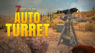 Download AUTO TURRETS ARE GREAT! - 7 Days to Die Alpha 16 Multiplayer Gameplay #56 Video