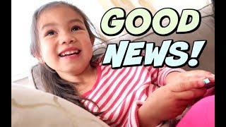 Download BREAKING THE GOOD NEWS!!! - ItsJudysLife Vlogs Video