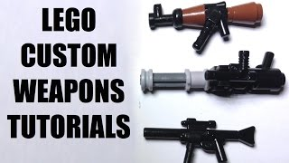 Download LEGO CUSTOM WEAPON TUTORIAL!! Video