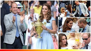 Download Kate Middleton and Prince William returned Romantic in the men's singles Wimbledon Final Video