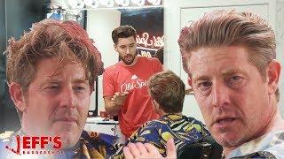 Download EMOTIONAL DAD GETS LIFE CHANGING HAIRCUT | JEFF's BARBERSHOP ft. Jason Nash Video
