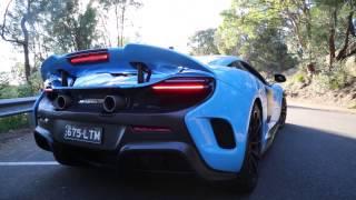 Download McLaren 675LT Exhaust Sound and Flybys Video