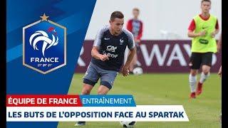 Download Équipe de France : les buts de l'opposition face aux U19 du Spartak Moscou (11-0) I FFF 2018 Video
