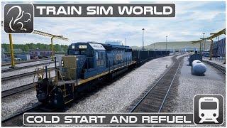 Download Train Sim World - Cold Start & Refuel [CSX Heavy Haul] Video